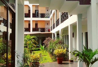 l'Hacienda Hôtel Kinshasa Gombe Chambres spacieuses, équipées, grand confort